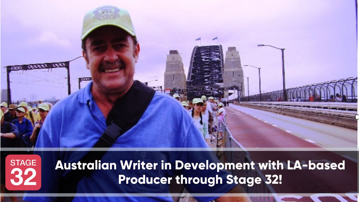 Australian Writer in Development with LA-based Producer through Stage 32!