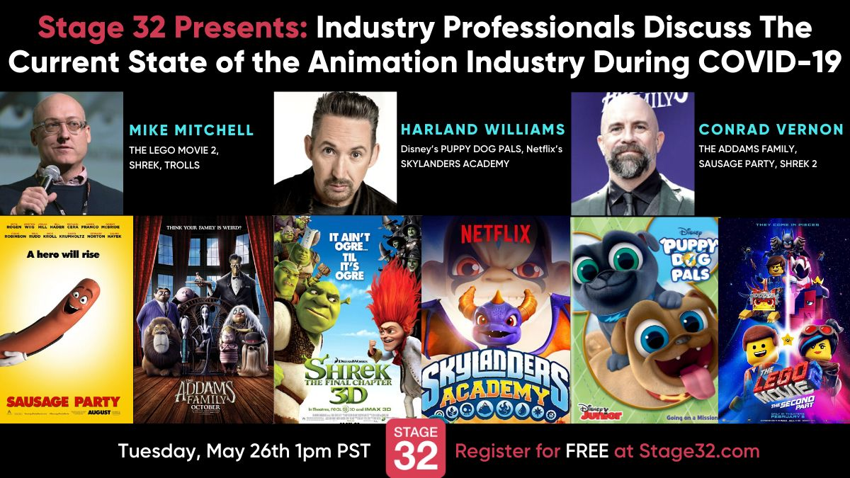 Stage 32 Presents: Industry Professionals Discuss The Current State of the Animation Industry During COVID-19