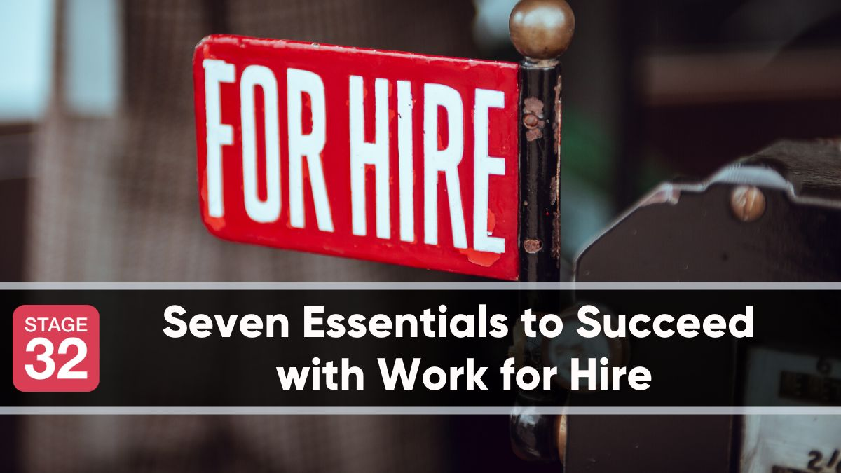 """I Don't Want the Credit"": Seven Essentials to Succeed with Work for Hire"