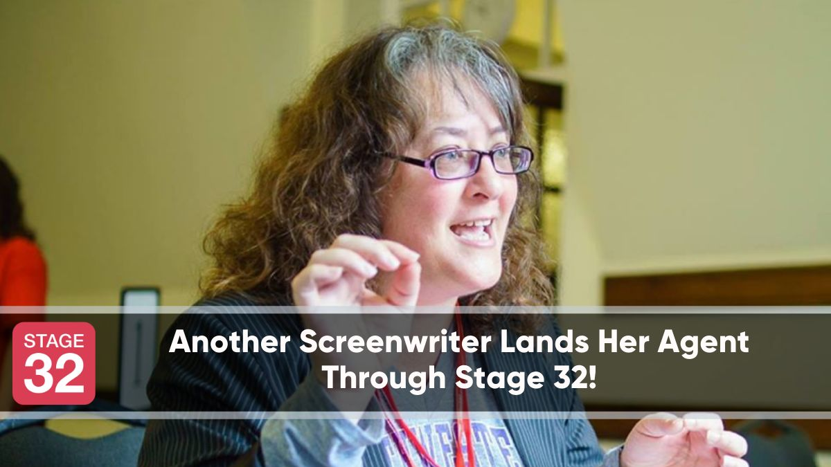 Another Screenwriter Lands Her Agent Through Stage 32!