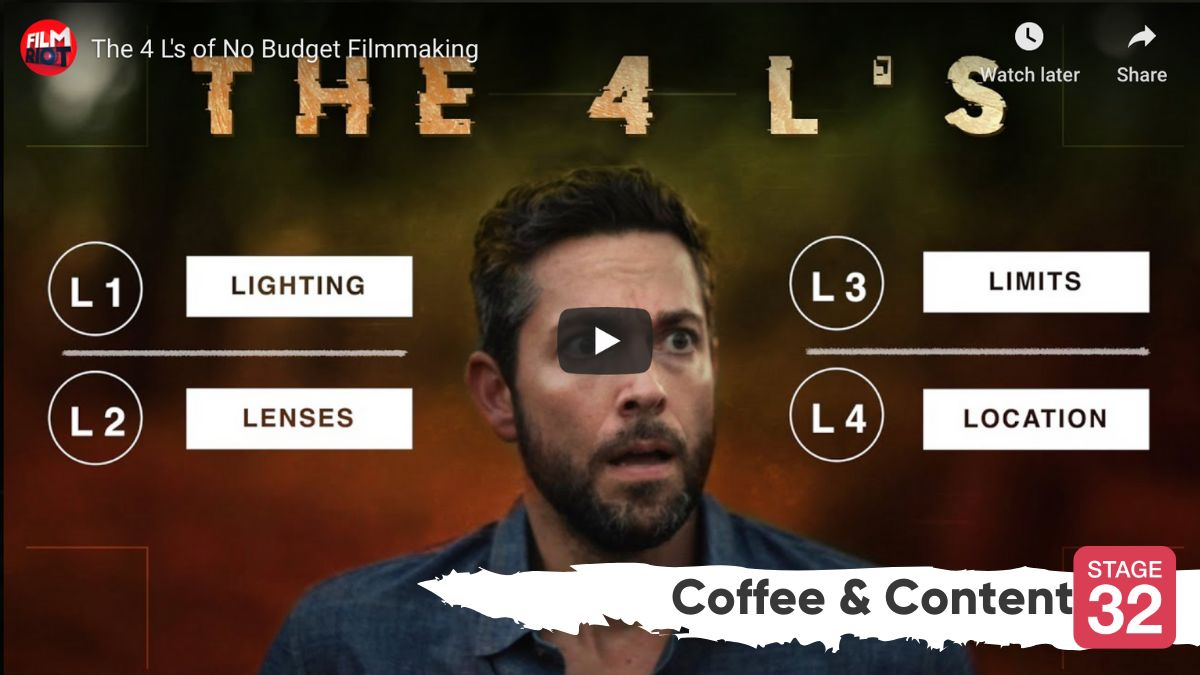 Coffee & Content: The 4 L's of No Budget Filmmaking & Lawyer Breaks Down Courtroom Scenes from Movies & TV