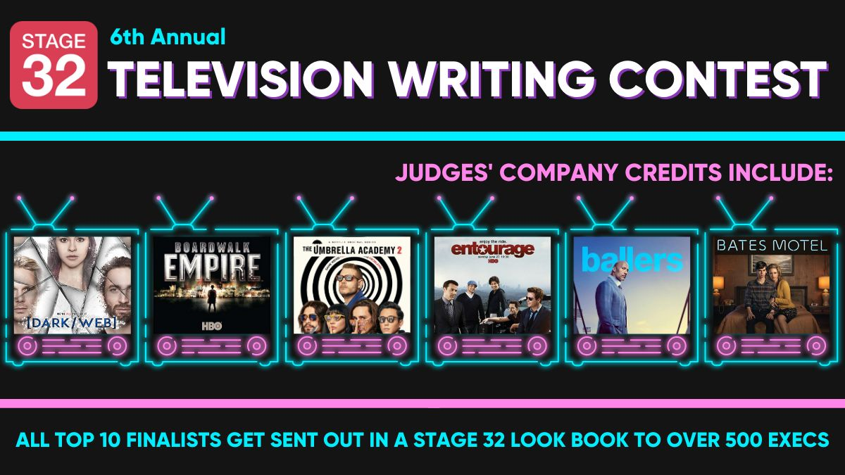 Announcing Our 6th Annual Television Writing Contest