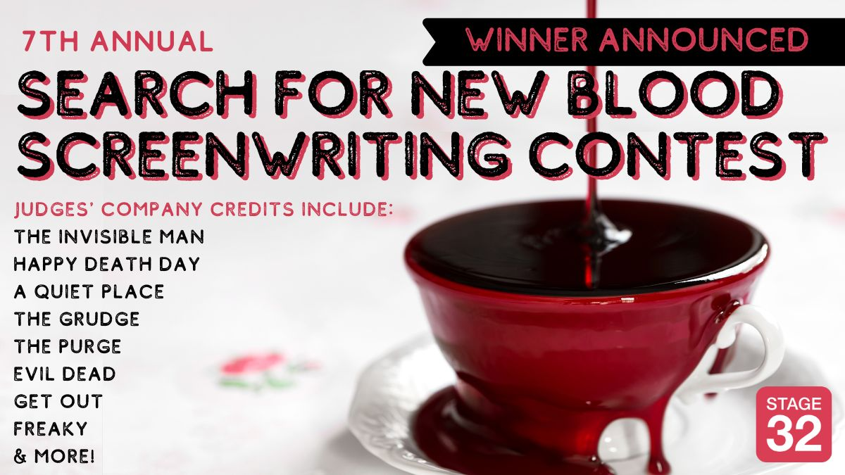 7th Annual Search for New Blood Screenwriting Contest