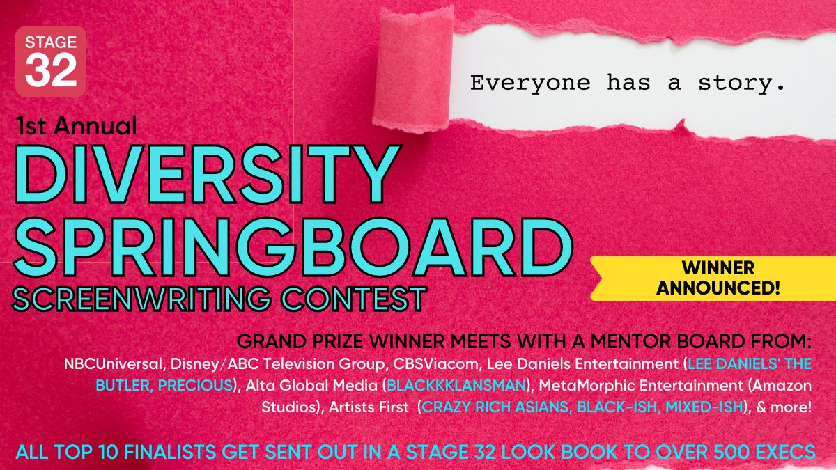 1st Annual Diversity Springboard Screenwriting Contest