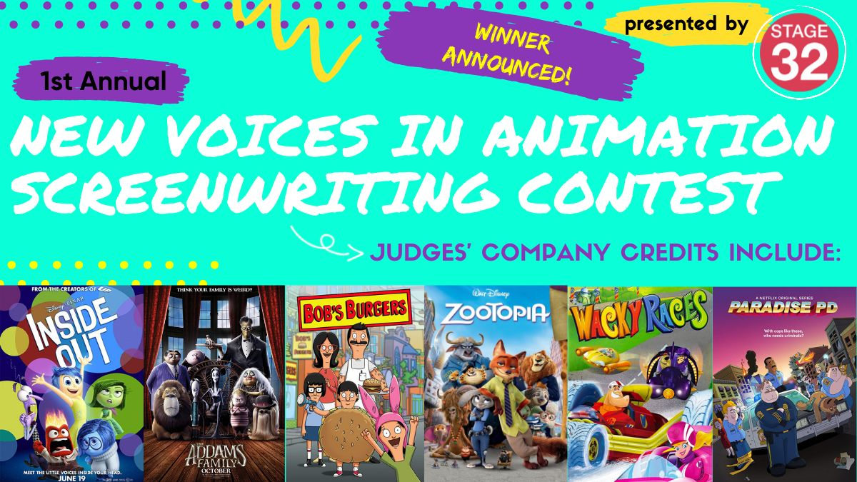 1st Annual New Voices in Animation Screenwriting Contest