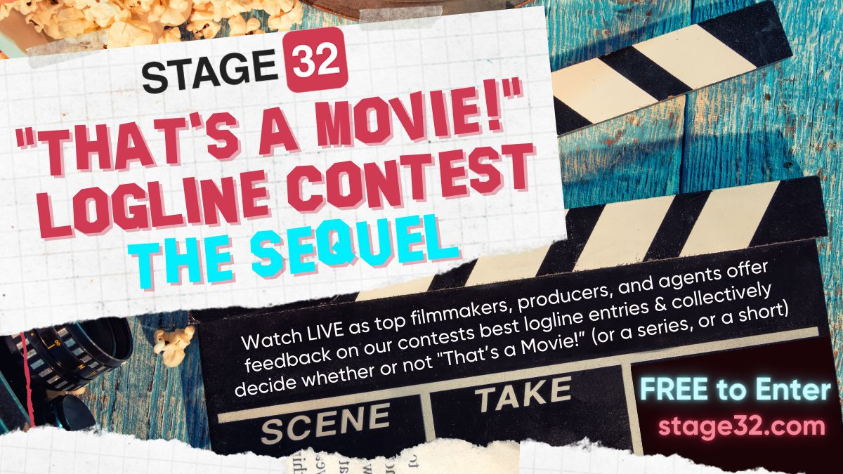 "Announcing ""That's a Movie"" Logline Contest: The Sequel"