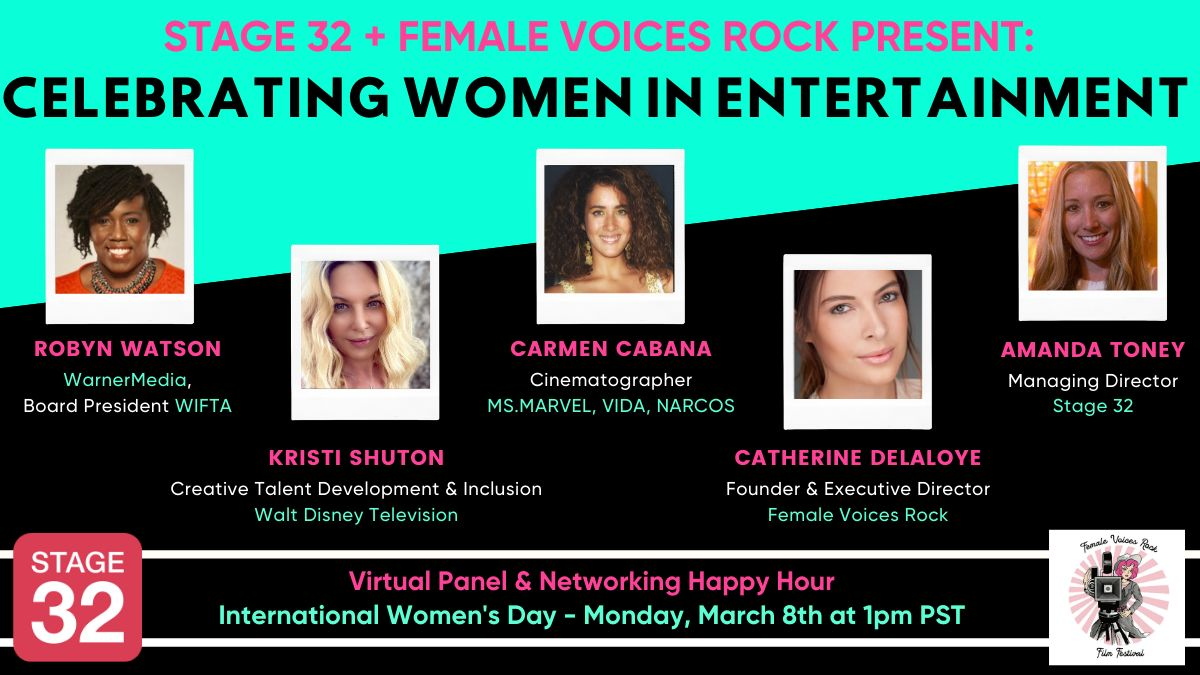 Stage 32 + Female Voices Rock Present: Celebrating Women in Entertainment