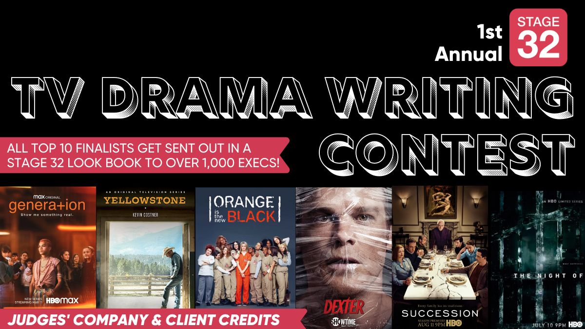 Announcing our 1st Annual TV Drama Writing Contest