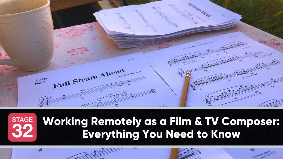 Working Remotely as a Film & TV Composer: Everything You Need to Know