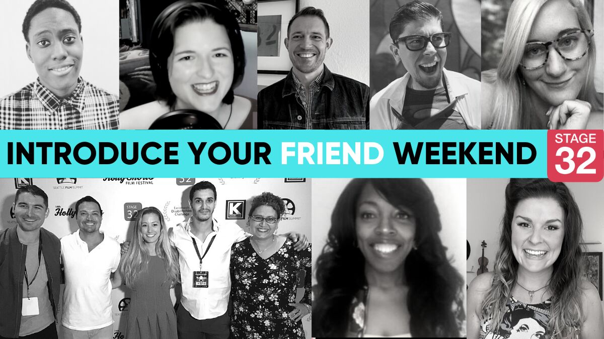 "Grab a Networking Buddy and Make It ""Introduce Your FRIEND Weekend""!"