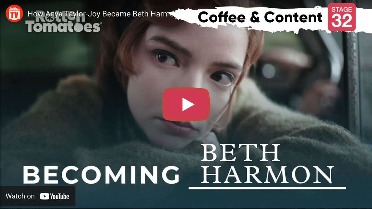 "Coffee & Content: Creating Beth Harmon from ""The Queen's Gambit"" & 3 Pre-Production Tips"