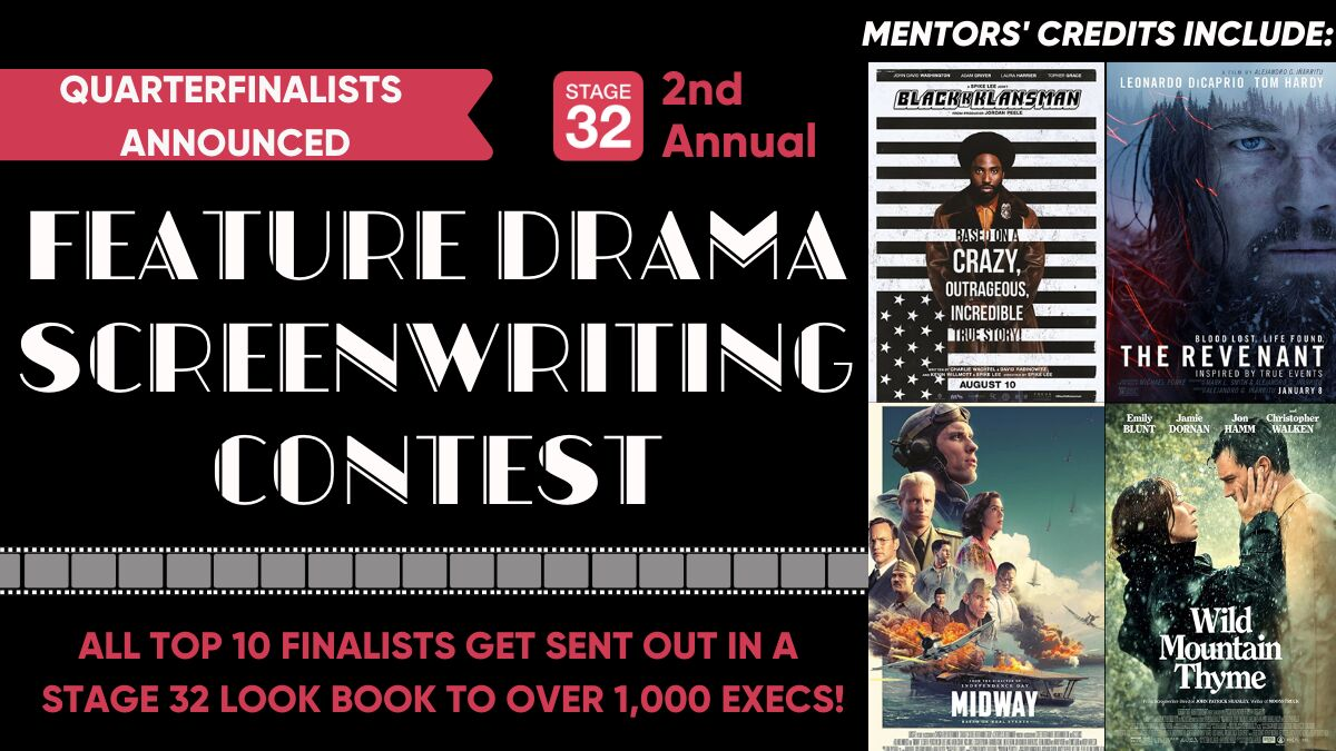 2nd Annual Feature Drama Screenwriting Contest
