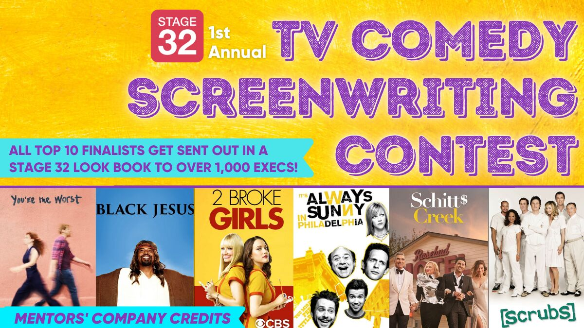 Announcing our 1st Annual TV Comedy Screenwriting Contest