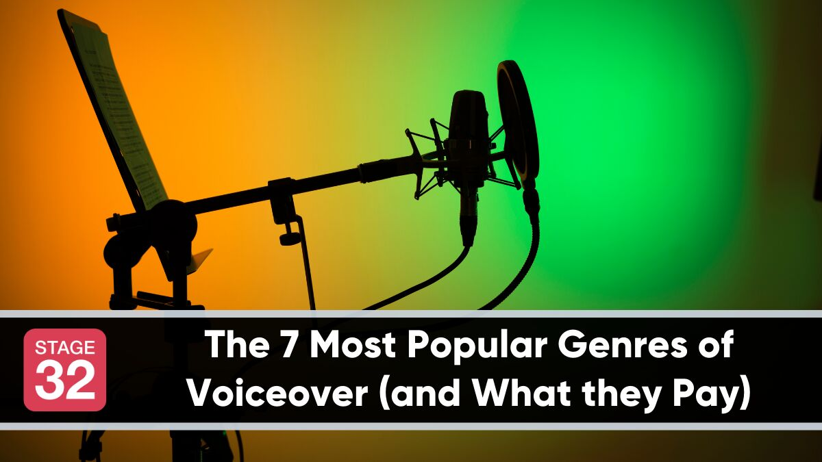 The 7 Most Popular Genres of Voiceover (and What they Pay)