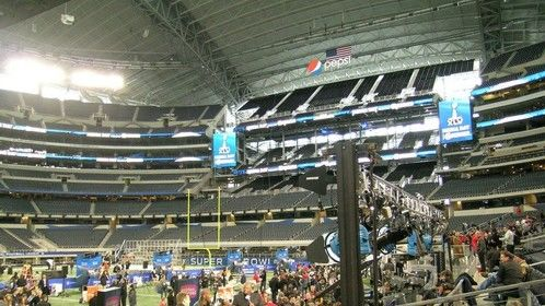 NFL Network retractable booth at Super Bowl XLV
