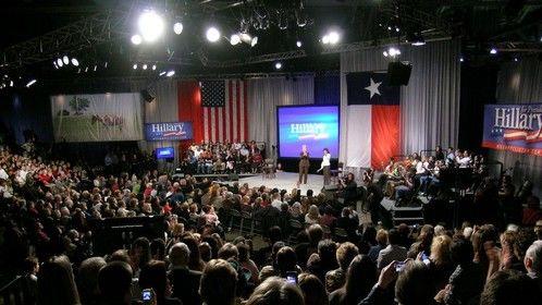 Hillary Clinton Texas Size Town Hall
