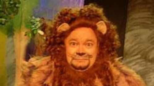 """Cowardly Lion in """"Wizard of Oz"""""""