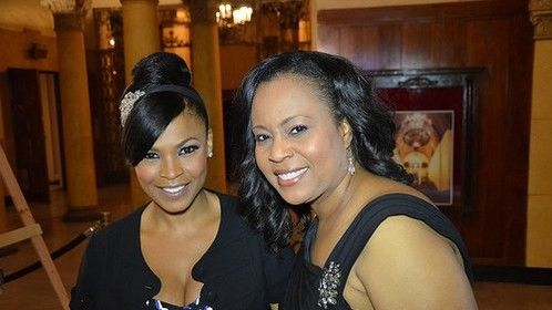 Here I am with Actress Nia Long at the Eye on black Awards show.