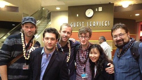 """After the World premiere of """"THe Land of Eb"""" in The Toronto Internationla Film Festival"""