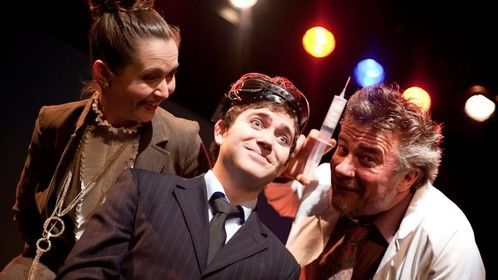 A play written & directed by Briony Kidd, Theatre Royal Backspace, Hobart 2011. Image credit Carlie Devine.