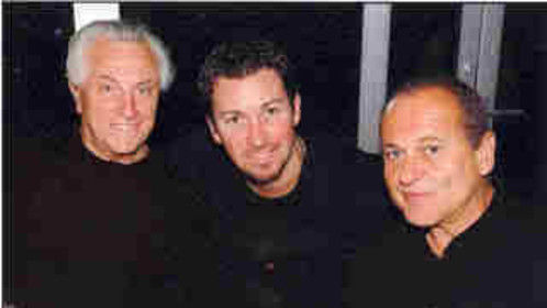 Jersey Boy Tommy Devito and Joe Pesci at dinner with Richard Wilk