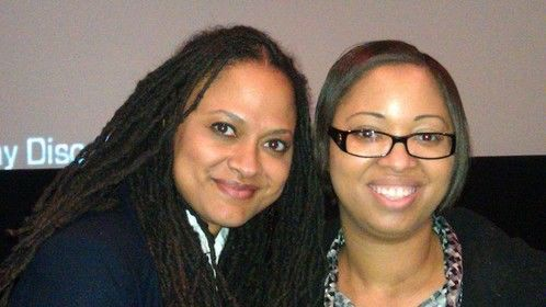 Ava Duvernay and Yours Truly
