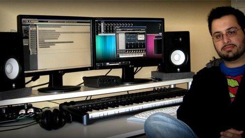 Me at my studio 15-03-2012