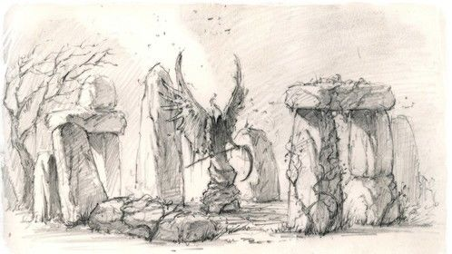 Environment concept sketch