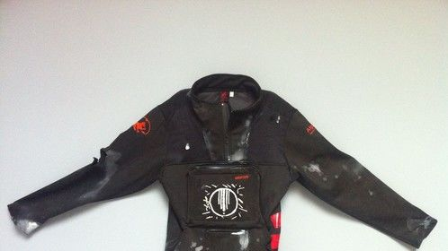post-apocalyptic ipad jacket for music video