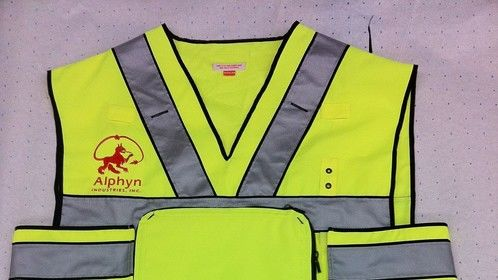 iPad jacket for construction video