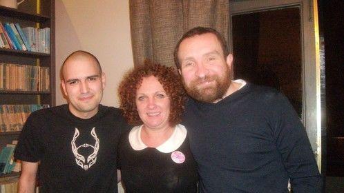 Thomas, Tina and Eddie