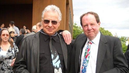 My friend John DiFusco & I at LFTC'