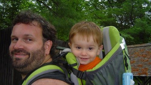 my son and I