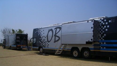 Generator truck and OB van