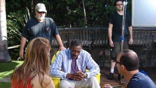 Me on the 'Fergus & Crispy' set August 29, 2012
