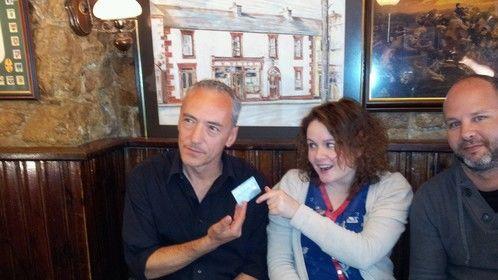 Nigel Mercier & Maeve McGrath star in Dead Dog Bounce