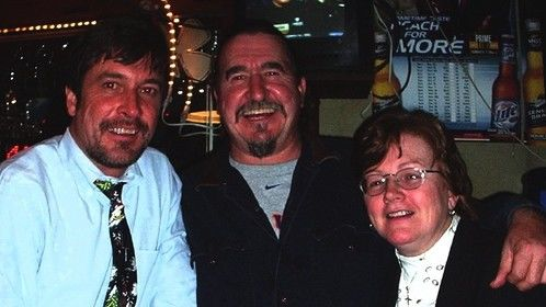 Ken with brother and sister, Scott and Colleen