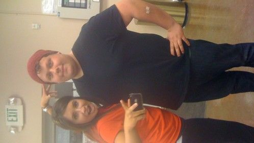 """me and bristol palin for """"dancing with the stars"""""""