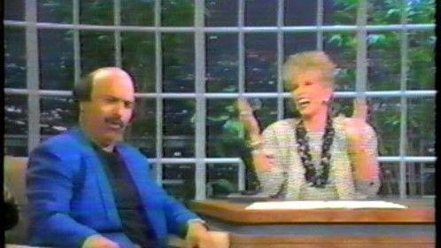 on Joan Rivers Show doing Rocky Balboa