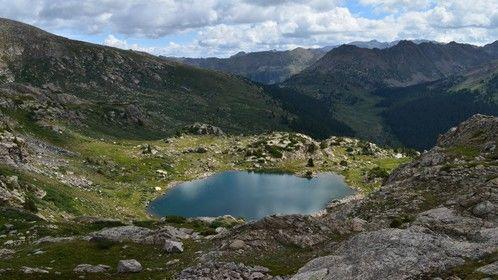 Highlands Alpine lake Colorado
