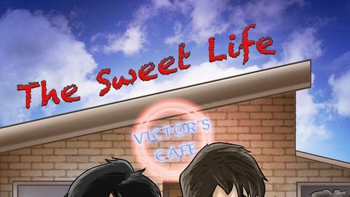 """Poster for my film """"The Sweet Life"""""""