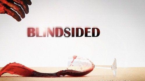 """Poster for my film """"Blindsided"""""""