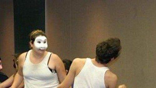 Aole T. Miller Mask/Movement workshop