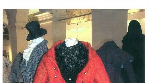 Fezziwig! Half scale, Victorian pattern and hand felted jacket with shibori cravat