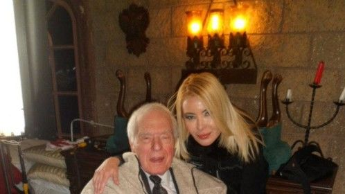 "Deborah Funes and Angus Scrimm at ""Disciples"""