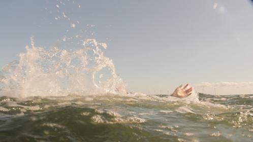 drowning scene