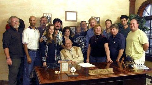 Cast and crew for Heading Home scene 55 featuring Corbin Bernsen