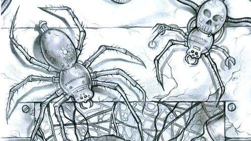 Sci Fi illustration