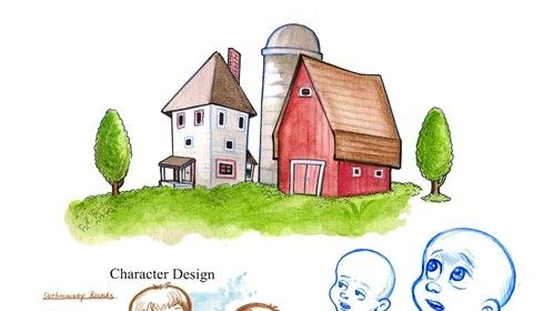 """Jack Character Design """"Henry and Me"""""""