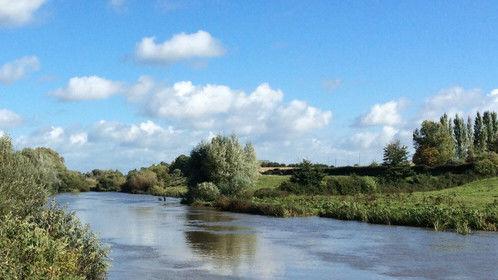 The River Barrow, Leighlinbridge, Co. Carlow, Ireland